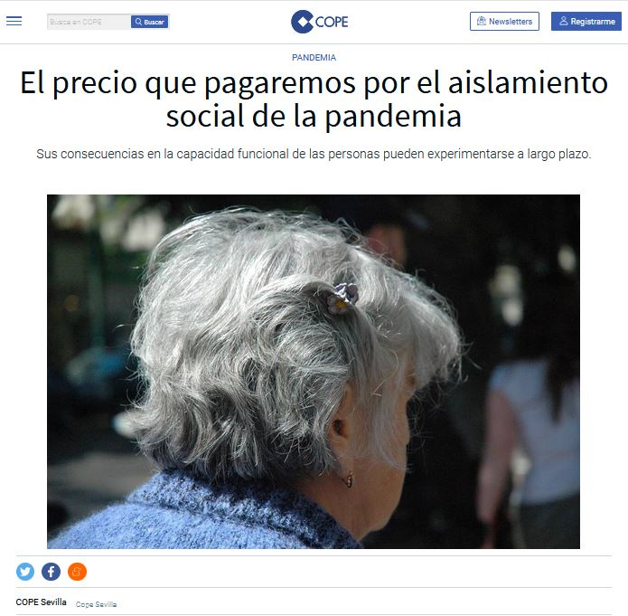 El precio que pagaremos por el aislamiento social de la pandemia