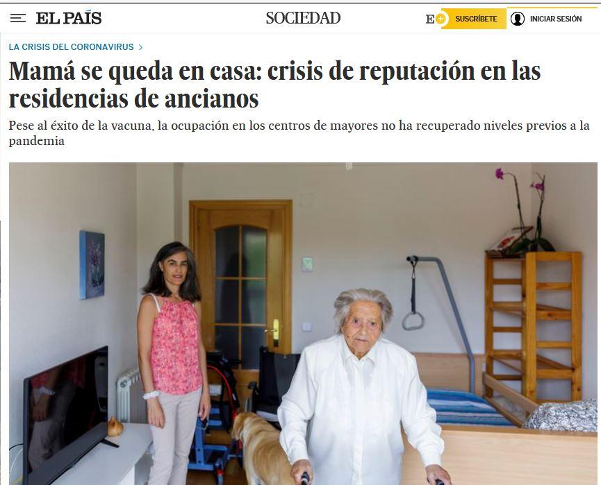 Mamá se queda en casa: crisis de reputación en las residencias de ancianos