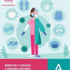 Bienestar y cuidados a personas mayores que viven en centros residenciales. Cuadernillo Serie Covid-19